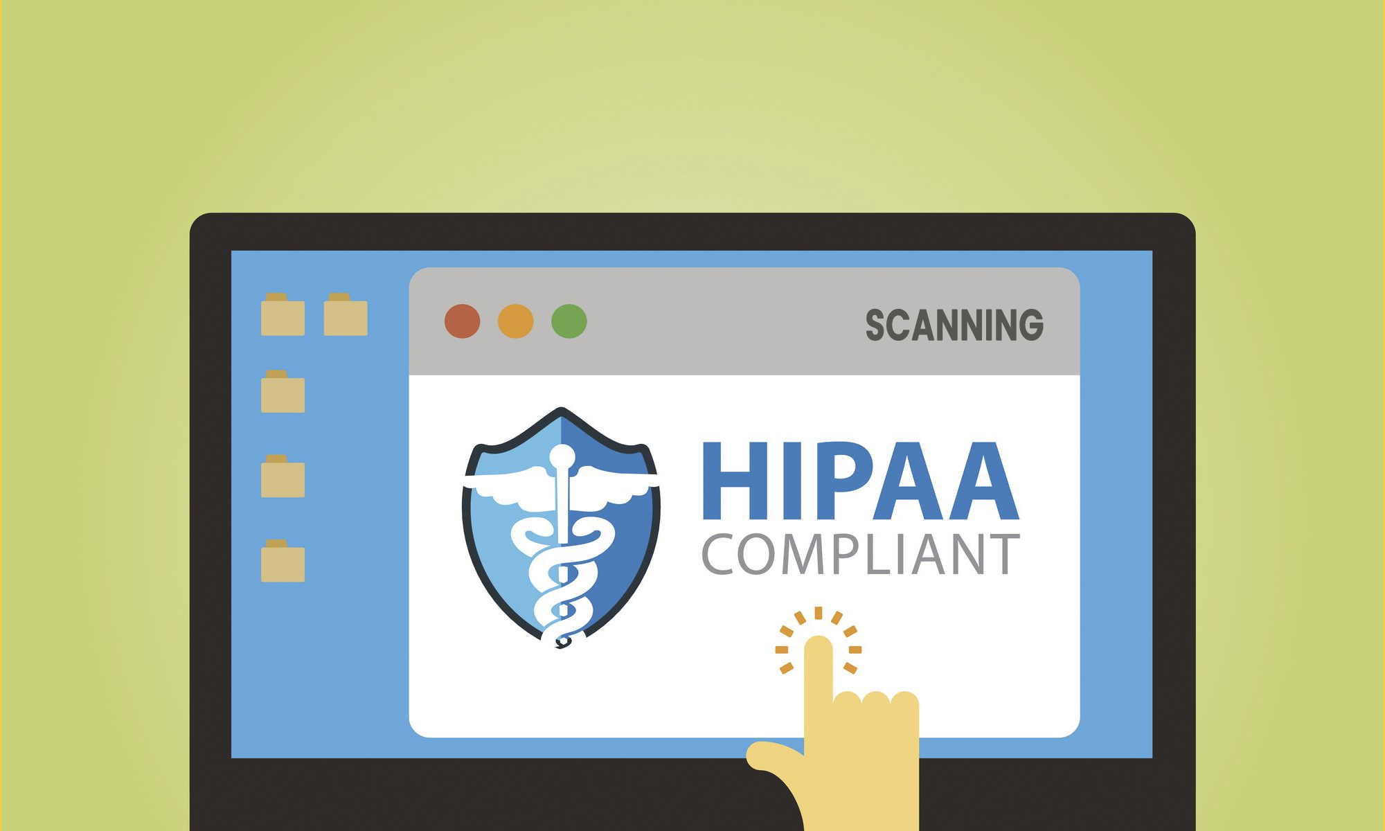 HIPAA compliant scanning bluetail